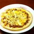 料理メニュー写真キーマカレーピザ