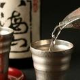 日本酒も豊富にご用意!