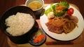 料理メニュー写真生姜焼きランチ