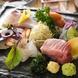●朝採れ鮮魚『お造り』『焼物』に華やかにアレンジ!