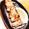 鶏皮串/豚バラ串
