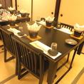 【ご宴会個室】席タイプはお座敷もしくはテーブルでお選びいただけます。