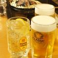 ジンギスカンに合う酒用意してます!!ビール(サッポロクラシック)、ハイボール(サーバーから出します)、各種カクテル、冷酒、焼酎、ソフトドリンク等。どんなお客様にも美味しい羊肉を楽しんで頂くため、旨いお酒を提供します!!