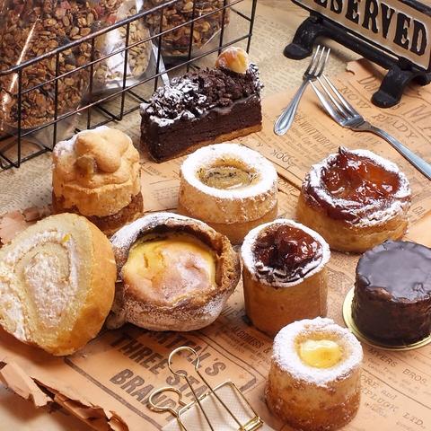 定番の生菓子を焼き菓子に!ガラス張りのアットホームなケーキダイニング♪
