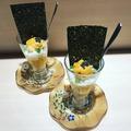 料理メニュー写真〆のご飯(うにパフェ)
