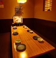 ゆったりくつろげるお席で絶品和食に舌鼓!日本酒も豊富!