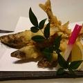 料理メニュー写真若あゆの天ぷら