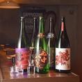 キリッと辛口な純米にこだわった豊富な日本酒もあります!イタリアンと日本酒のマリアージュをぜひ!