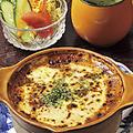 料理メニュー写真トーフグラタン/茄子グラタン