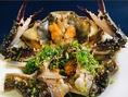 他では味わえない最高に贅沢な逸品!韓国の釜山出身の料理人ジョン・ミンチョル君が、ご当地の名店より相続したレシピで作る「カンジャンケジャン」!素材も仙台の松島の漁師さんから直送で鮮度抜群!