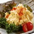 料理メニュー写真出来立て明太ポテトサラダ