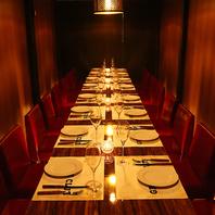 ◇料理の魅力を引き立てる特別な空間◇
