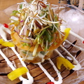 料理メニュー写真鮮魚とアボカドのミルフィーユサラダ