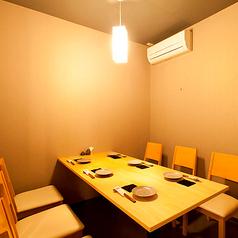 6席のテーブルは個室となっているのでお子様連れのお客様にも最適な空間です♪