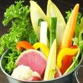 料理メニュー写真菜園風スティックサラダ
