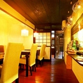 ■整然と並ぶテーブル席!町屋カフェでごはん■