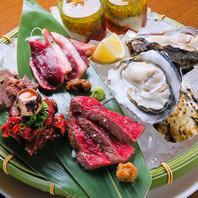日本全国から新鮮牡蠣を毎日入荷!宮崎牛とあいち鴨