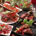 高級食材を使用した【涙シリーズ】はもちろん、美味しい一品料理を豊富にご用意しております。