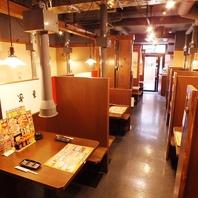 【不動前駅1分】トークやお箸もすすむ、明るい店内♪