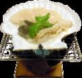 料理メニュー写真ホタテ貝殻焼