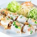 料理メニュー写真Banh Cuon 豚挽肉入り蒸し春巻き