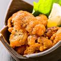 料理メニュー写真自家製 若鶏の唐揚げ