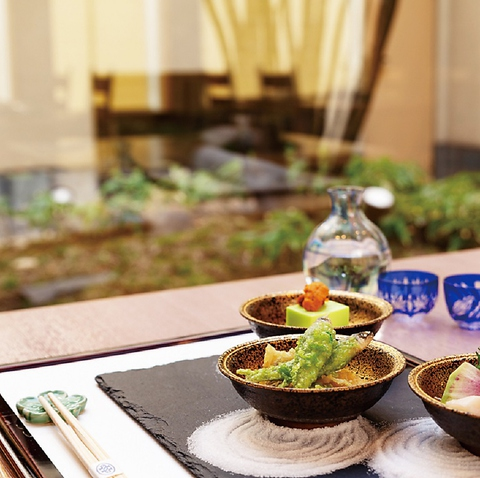 【料理長おすすめ】〜季節の厳選素材を贅沢に愉しむ〜 会席「八坂」
