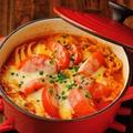 料理メニュー写真三元豚と白菜のミルフィーユ鍋