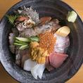 【贅沢な海鮮が豊富】新鮮な魚介類を豊富にご用意◎贅沢に海鮮丼や浜焼きセットなどご注文ください。
