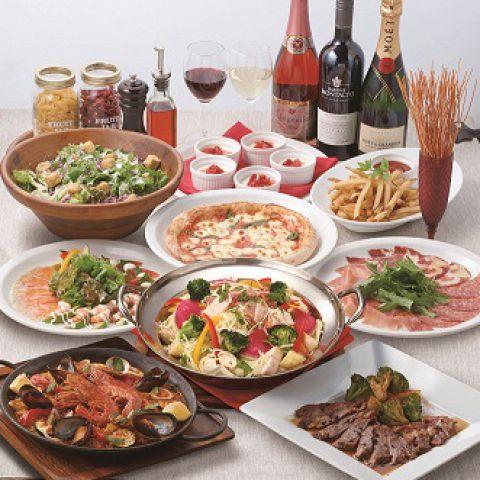 昼宴会限定◆3時間プレミアムパーティープラン◆