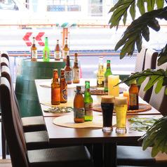 160種類の飲み放題メニューを揃えたビアガーデン♪♪3時間飲み放題クーポンや夏季限定のカクテル☆ブルーハワイやシークワーサー・巨峰・トマトなどのオリジナルカクテルの他、ビアカクテル6種類(オレンジ・マンゴー・ライム・レモン・グレープフルーツ・コーヒー)超豊富なラインナップ!!