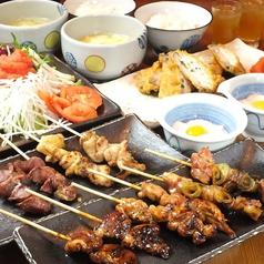炭火焼き鳥 鶏創作料理 酉乃市のコース写真