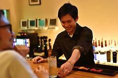 【Home】のカウンターは8席ご用意しております^ ^明るく元気なスタッフと楽しい時間をお過ごしください^ ^お一人でいらっしゃるお客様も多数いらっしゃいます^ ^