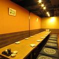 大小様々な個室宴会が可能!各種宴会に大人気のお部屋です。ご予約はお早目に。