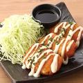 料理メニュー写真【北海道産】白身魚フライチーズフォンデュ