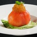 料理メニュー写真湯むきトマトまるごとサラダ