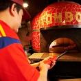 ピザ作り[8]さぁ、石窯で焼きます