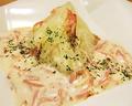 料理メニュー写真厚切りキャベツの蒸し焼き~ベーコンとアンチョビのソース~