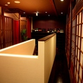 2Fも広々、個室や宴会ルームです。
