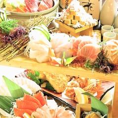 北海道海鮮にほんいち 地酒蔵店のコース写真