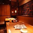 ★☆MAX9名様の個室テーブルのお席☆★