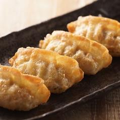 揚げ餃子 酢胡椒
