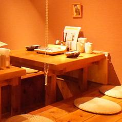 テーブルは全て堀式です。