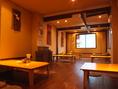 2階個室は貸切可能!換気も十分な座敷席です。最大24名可能