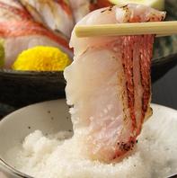 最高の海鮮を、塩藻でレモンでどうぞ。