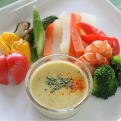 料理メニュー写真温野菜のバーニャカウダ