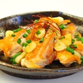 料理メニュー写真魁皇関の鶏にんにく焼き