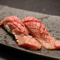 A4和牛の炙り肉寿司