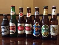 ビールの種類が豊富♪