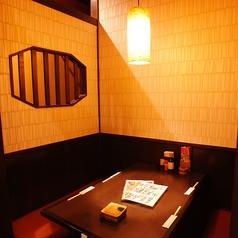 ★☆4名様の個室のテーブル☆★